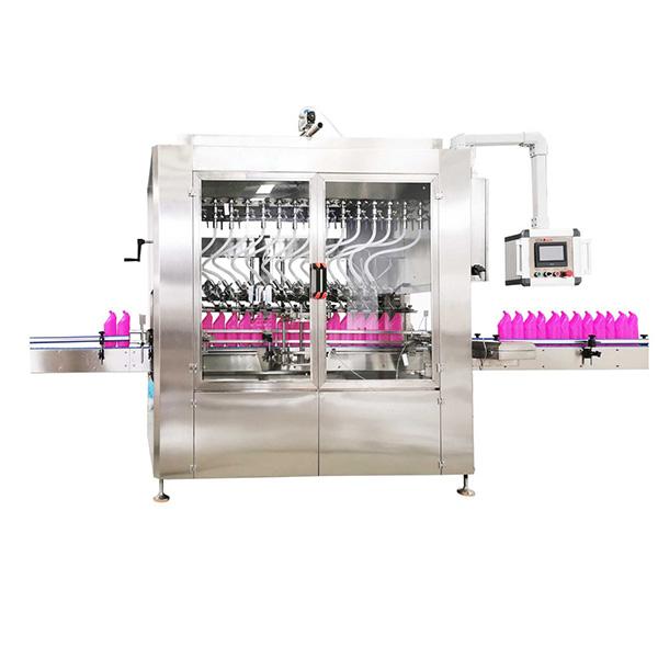 Stroj za polnjenje steklenic z gravitacijskim tipom
