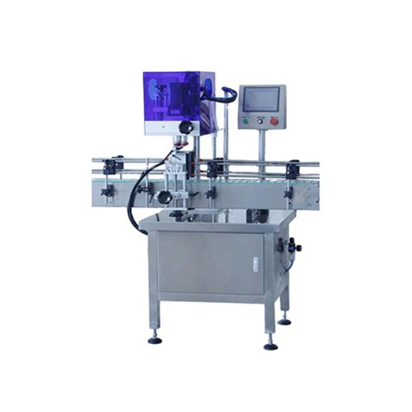 Avtomatski stroj za zapiranje steklenic s 4 kolesi