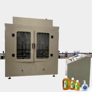 Avtomatski stroj za polnjenje stranišč za čistila za stranišča za steklenice proti korozivnim viskoznostim