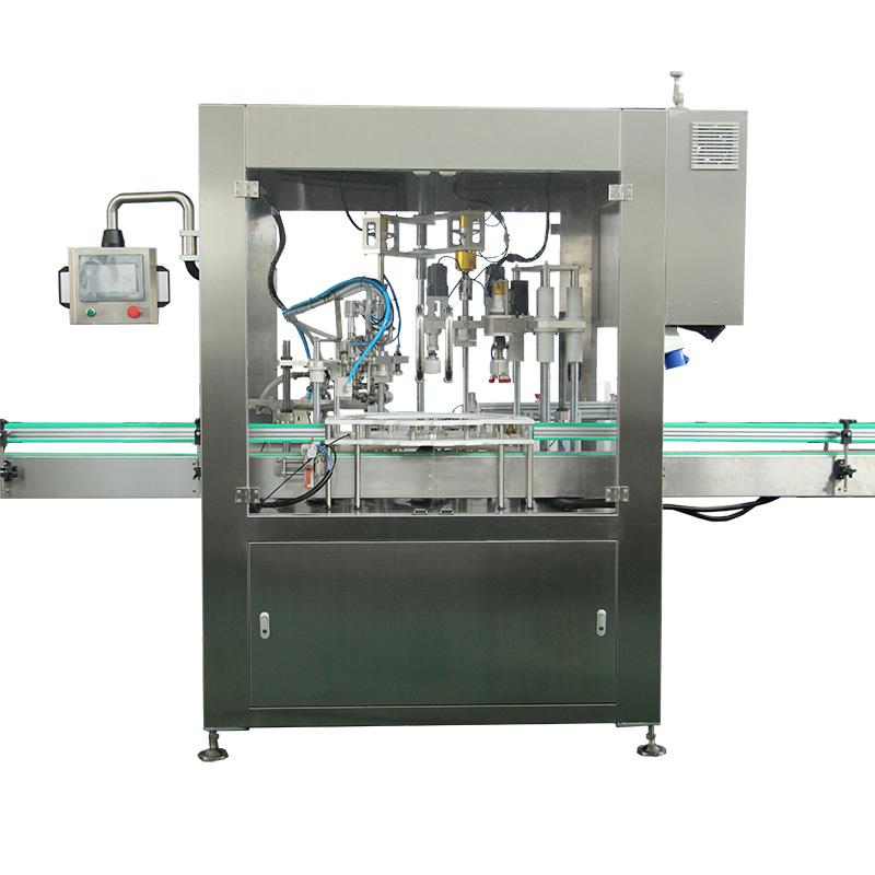 Avtomatski stroj za polnjenje in zapiranje steklenic