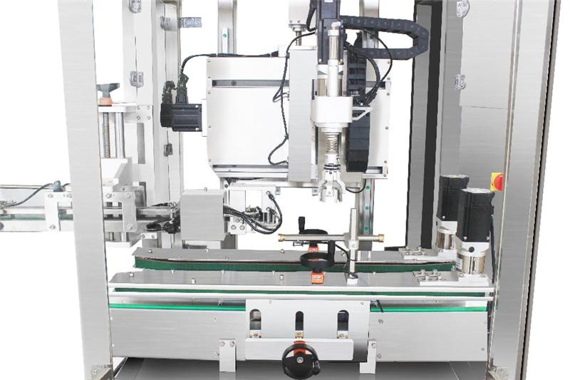 Podrobnosti o avtomatskem stroju za zapiranje vijakov z eno glavo