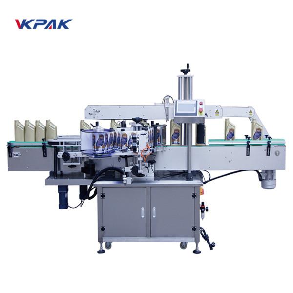 Avtomatski stroj za etiketiranje sprednjih in zadnjih strani