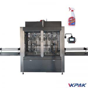 Stroj za polnjenje tekočih čistilcev